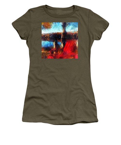 The Red Chair Women's T-Shirt (Junior Cut)