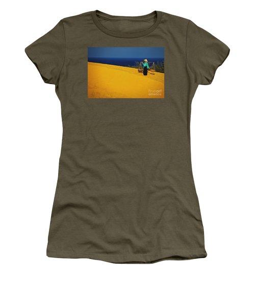 The Red San Dunes Of Mui Ne Vietnam Women's T-Shirt