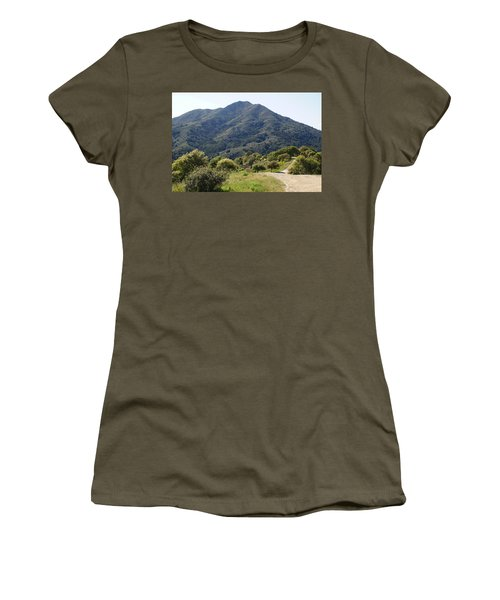 The Road To Tamalpais Women's T-Shirt