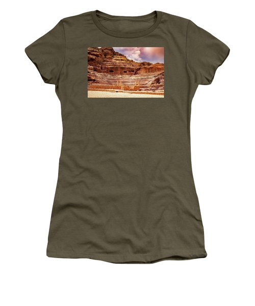 The Roman Theater At Petra Women's T-Shirt