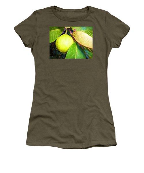 The Rose Apple Women's T-Shirt (Junior Cut) by Winsome Gunning