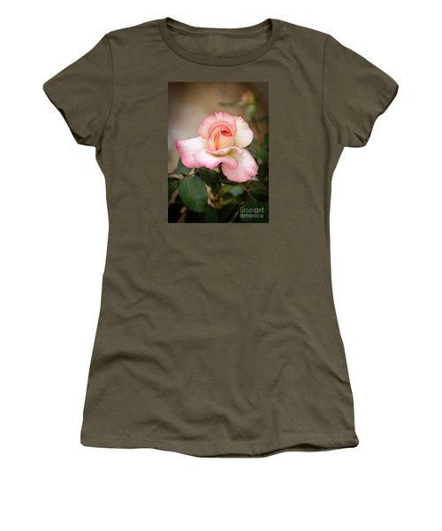 The Rose Women's T-Shirt (Junior Cut) by Janice Rae Pariza