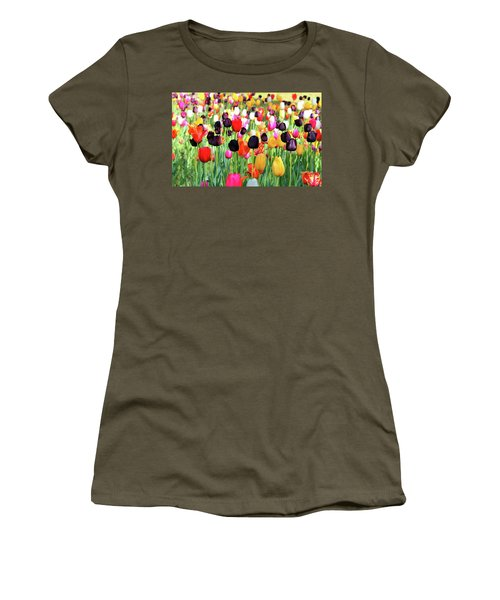 The Season Of Tulips Women's T-Shirt