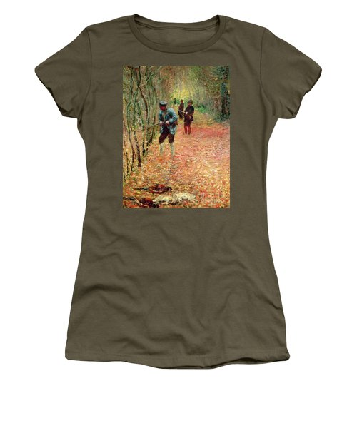The Shoot Women's T-Shirt (Athletic Fit)