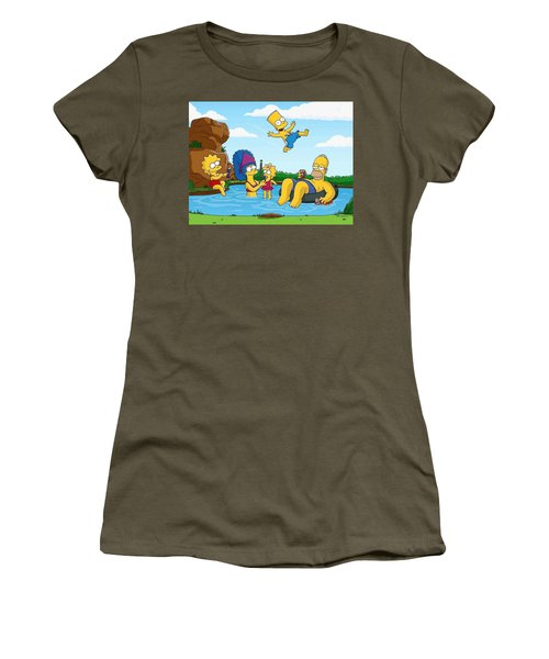 The Simpsons Women's T-Shirt