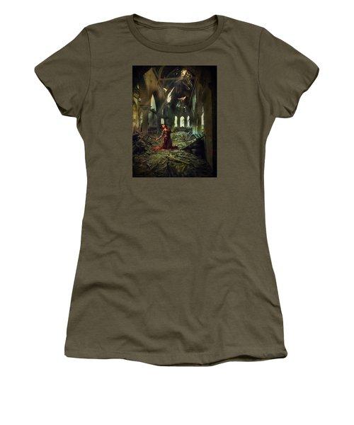 The Soul Cries Out Women's T-Shirt (Junior Cut) by John Rivera