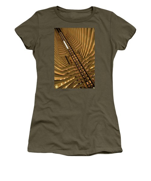 Women's T-Shirt (Athletic Fit) featuring the photograph The Spine by David Chandler
