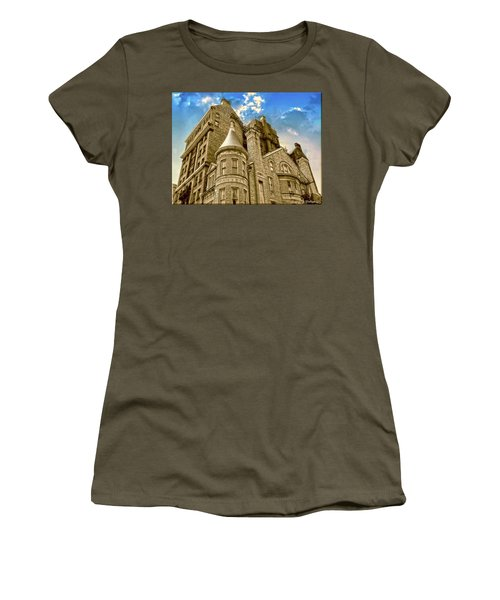 Women's T-Shirt (Junior Cut) featuring the photograph The Stafford Hotel by Brian Wallace