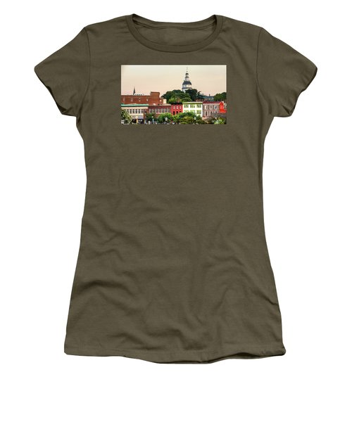 The State Capitol Women's T-Shirt (Athletic Fit)