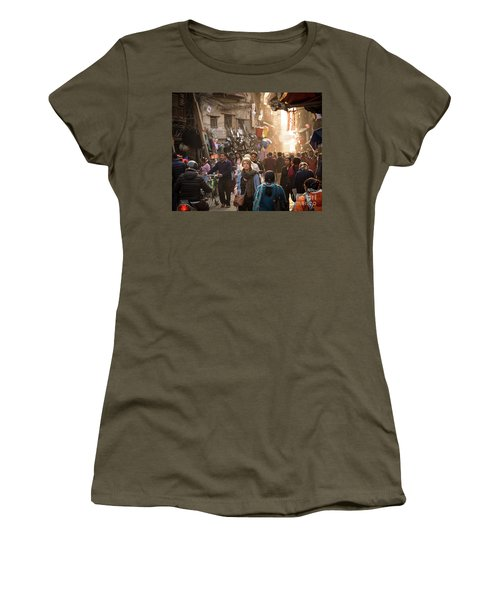 The Streets Of Kathmandu Women's T-Shirt