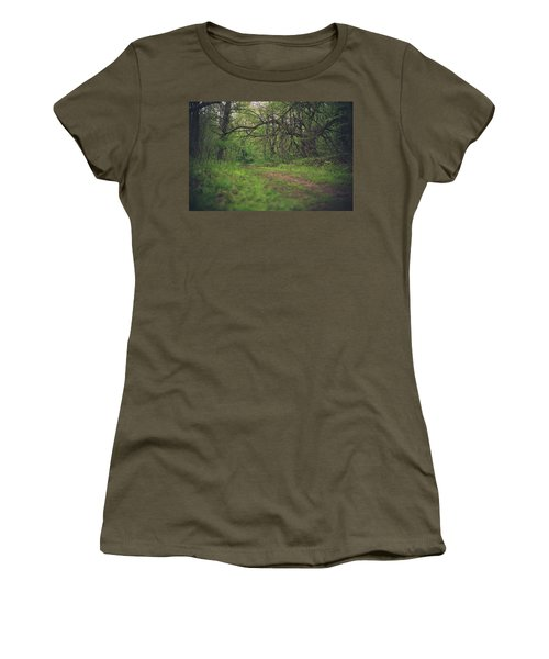 Women's T-Shirt (Junior Cut) featuring the photograph The Taking Tree by Shane Holsclaw