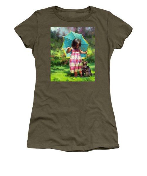 The Teal Umbrella Women's T-Shirt