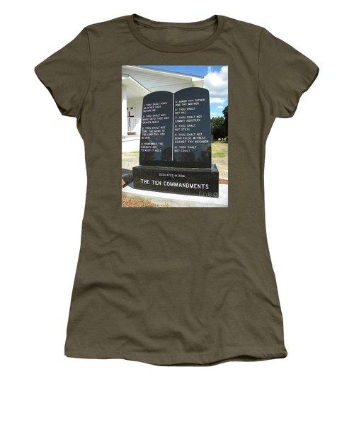 The Ten Commandments Women's T-Shirt
