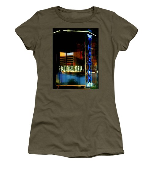 The Thaxton Speakeasy Women's T-Shirt (Athletic Fit)