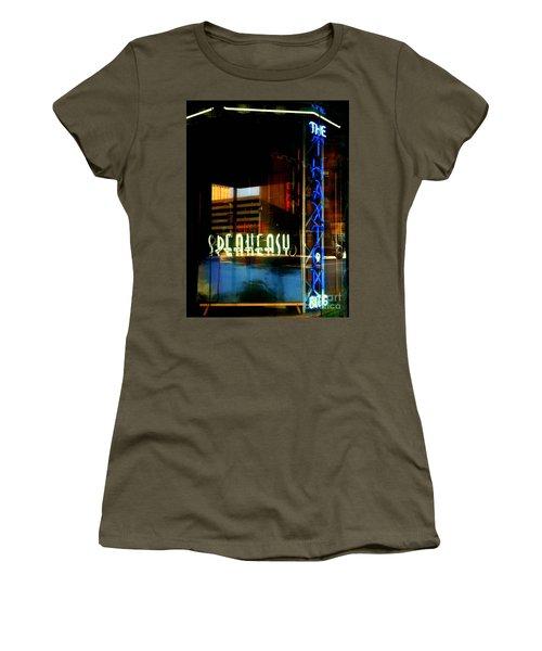 The Thaxton Speakeasy Women's T-Shirt (Athletic Fit)