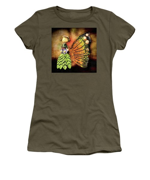 Women's T-Shirt (Athletic Fit) featuring the photograph The Thing by Lewis Mann