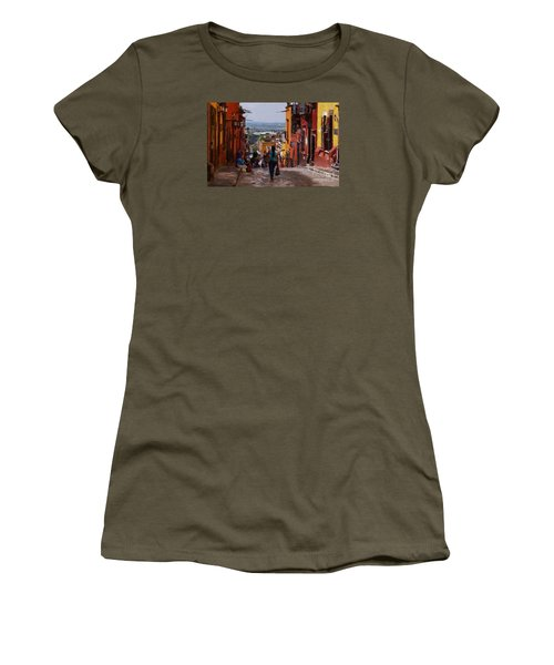 The Top Of Calle Umaran Women's T-Shirt (Athletic Fit)