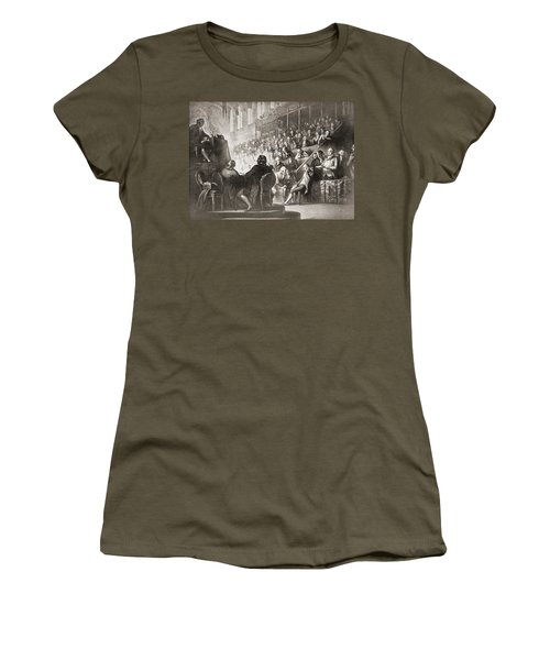 The Trial Of Louis Xvi At The National Women's T-Shirt