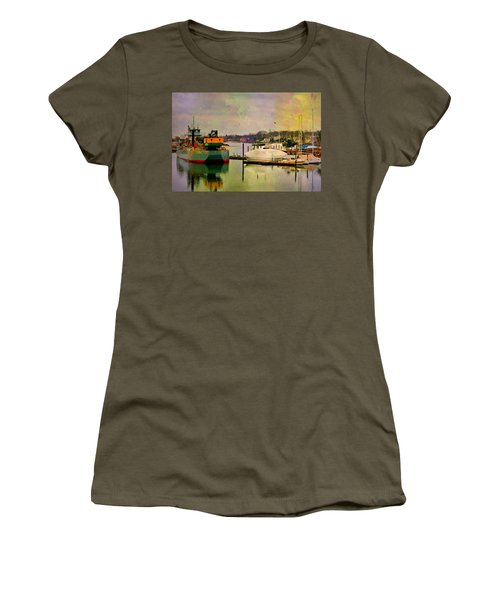The Tug Boat Women's T-Shirt (Athletic Fit)