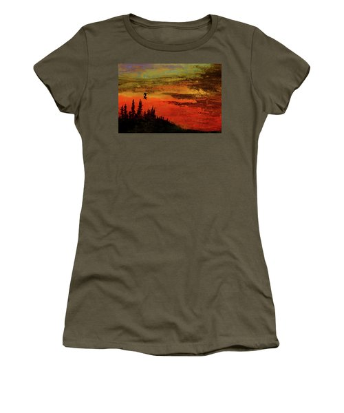 The Two Of Us Women's T-Shirt (Junior Cut) by R Kyllo