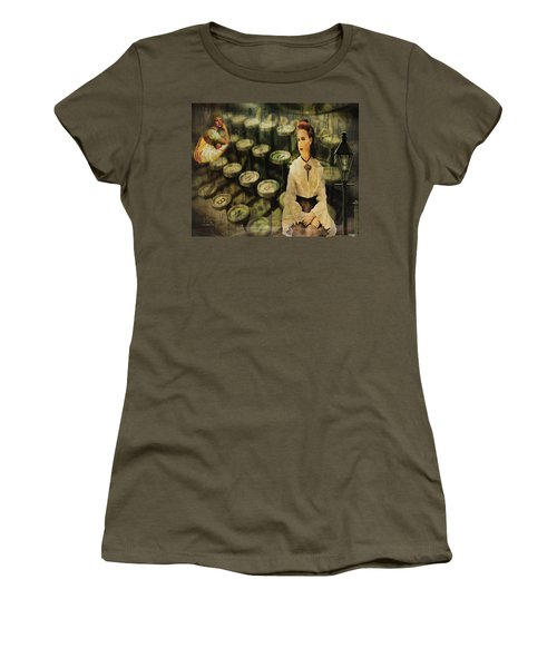 The Typist Women's T-Shirt (Athletic Fit)