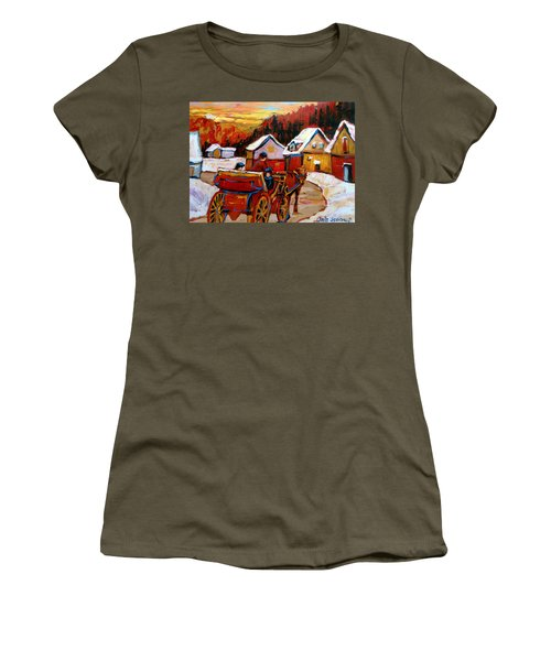 The Village Of Saint Jerome Women's T-Shirt