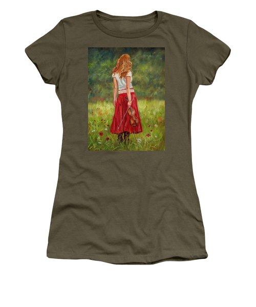 The Violinist Women's T-Shirt