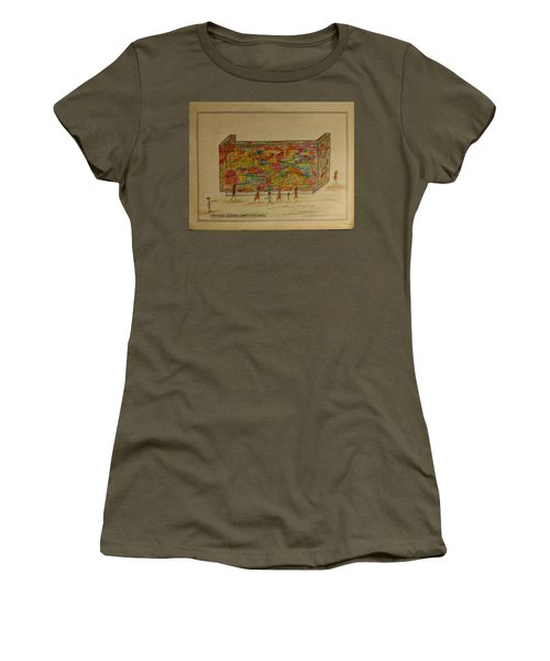 The Wall Women's T-Shirt (Athletic Fit)