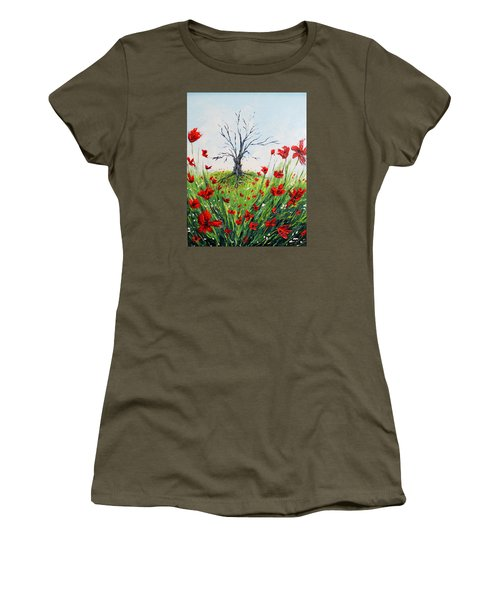 The Warrior Women's T-Shirt (Junior Cut) by Meaghan Troup