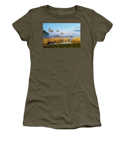 The Wetlands Crop Women's T-Shirt