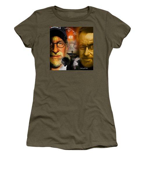 The World Of Steven Spielberg Women's T-Shirt (Junior Cut) by Ted Azriel