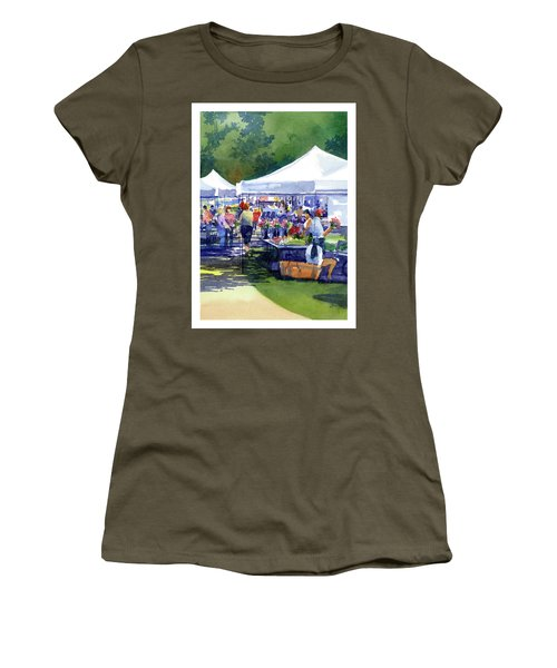 Theinsville Farmers Market Women's T-Shirt (Athletic Fit)