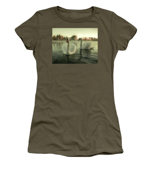 This Is Purity And Innocence Women's T-Shirt (Junior Cut) by Rose-Marie Karlsen