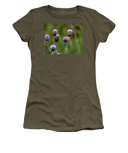 Thistles Women's T-Shirt (Athletic Fit)