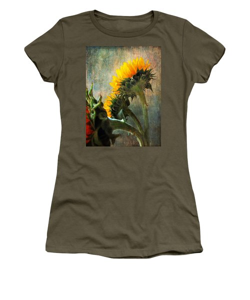 Three Women's T-Shirt (Junior Cut) by John Rivera