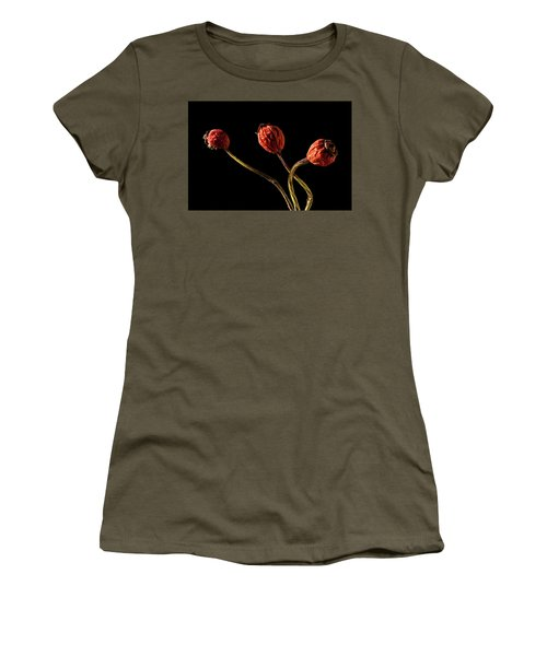 Three Rose Hips Women's T-Shirt