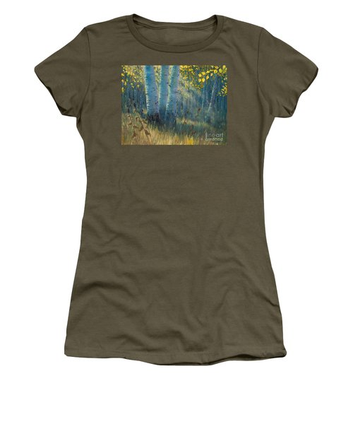 Three Sisters - Spirit Of The Forest Women's T-Shirt