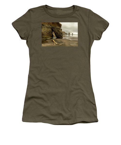 Three Sisters Women's T-Shirt (Junior Cut) by Werner Padarin