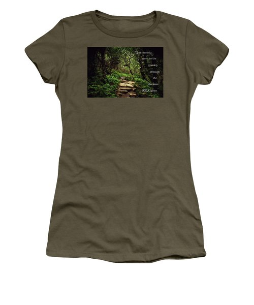 Through The Shadows Women's T-Shirt (Athletic Fit)
