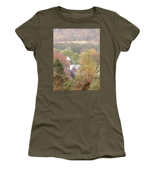 Through The Trees Women's T-Shirt (Athletic Fit)