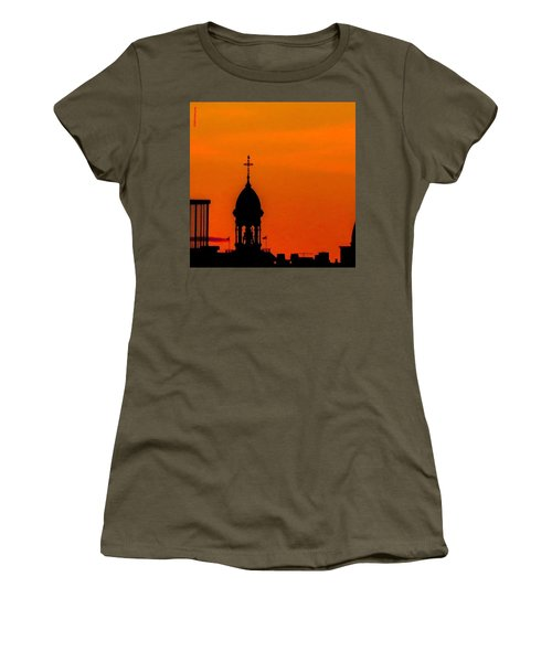 #throwbackthursday #fire In The #sky Women's T-Shirt