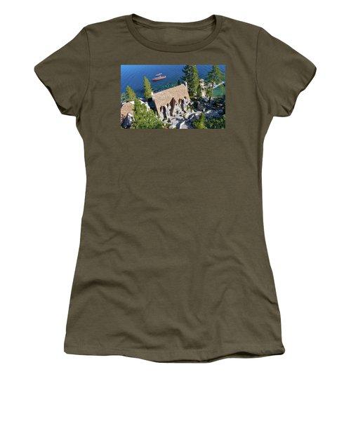 Thunderbird Lodge Aerial Women's T-Shirt