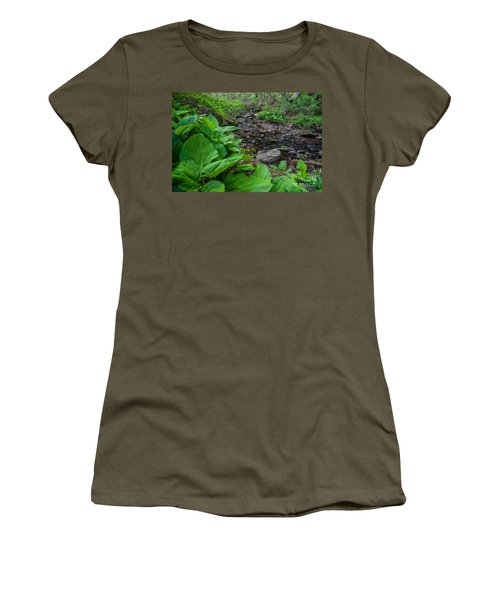 Tierney Springtime - New England Forest Women's T-Shirt
