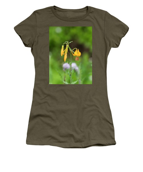 Tiger Lily In Olympic National Park Women's T-Shirt