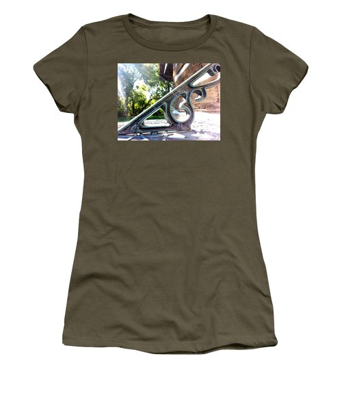 Women's T-Shirt featuring the photograph Time At An Angle by Robert Knight