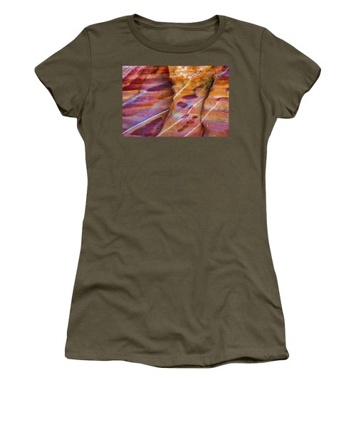 Women's T-Shirt (Junior Cut) featuring the photograph Timelines by Darren White