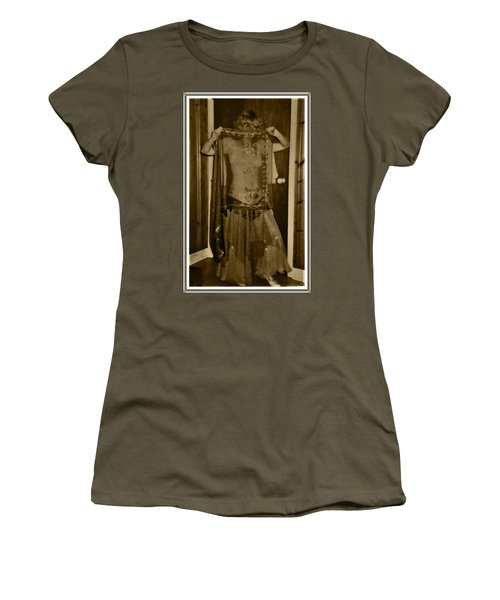 Women's T-Shirt (Athletic Fit) featuring the photograph Tiny Dancer by Denise Fulmer