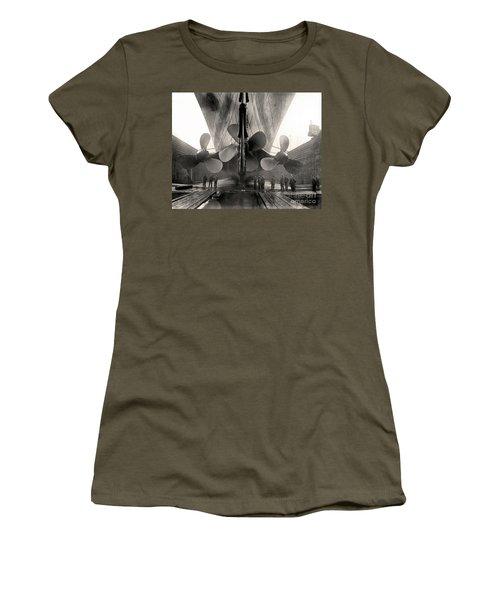 Titanic's Propellers  Women's T-Shirt