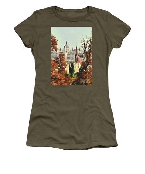 To Budapest With Love Women's T-Shirt (Athletic Fit)