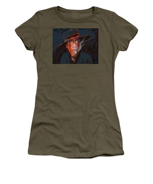 Tobaco Break Women's T-Shirt (Athletic Fit)